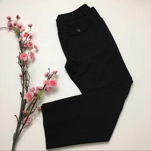 WHBM Legacy Black Slacks Dress Pants